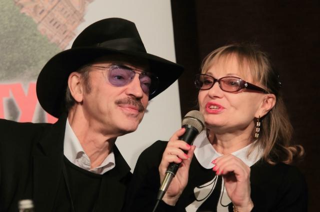 «Семья – главное». На фото – с супругой Ларисой Луппиан.