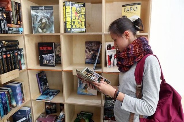 В обновленном библиотеке книги - на любой вкус