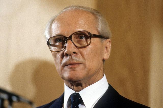 Эрих Хоннекер.
