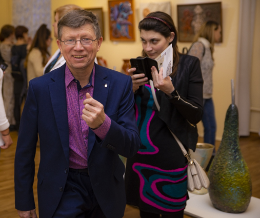 Организатор выставки.