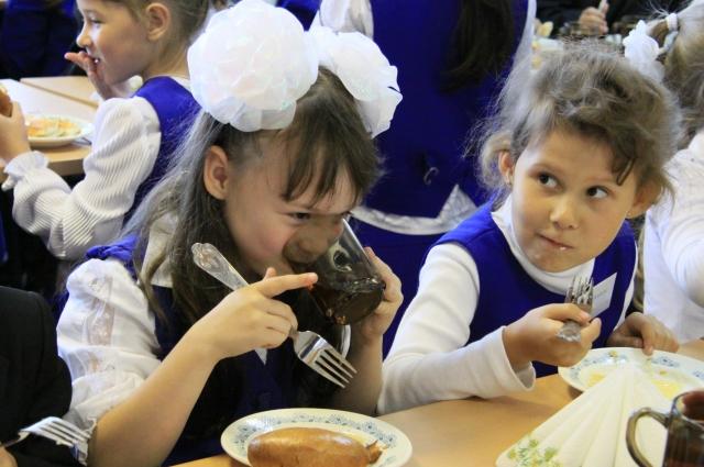 За счет государства ребенку положено горячее питание один раз в день.