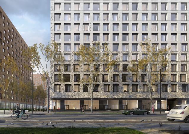 Золотая арка, керамические зайцы: в Москве строится необычный ЖК
