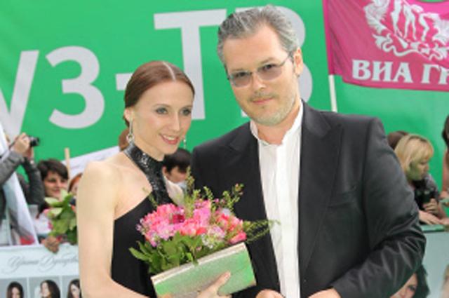 Прима-балерина Большого театра Светлана Захарова с мужем скрипачом Вадимом Репиным