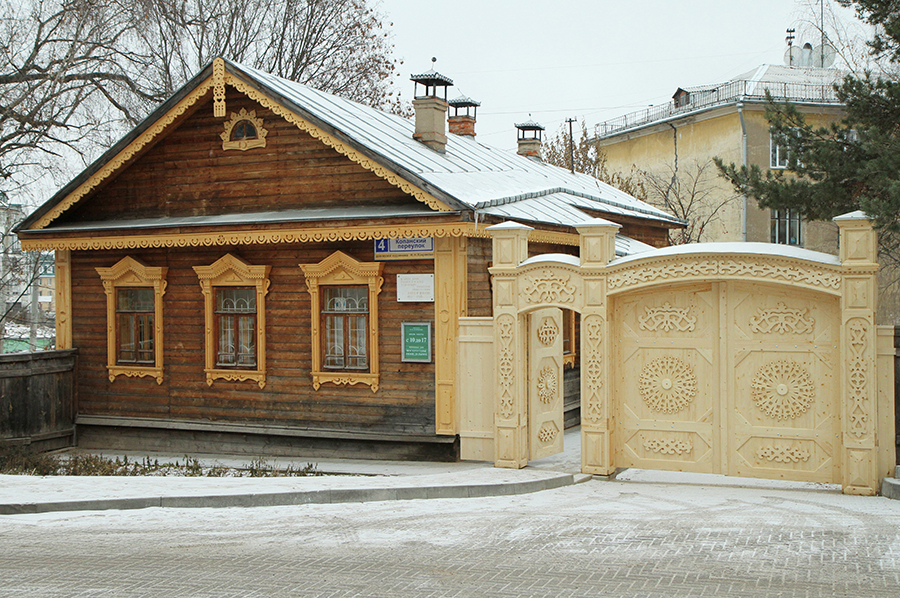 За оформление музея Хохрякова Геннадия Лопатина предложили к званию