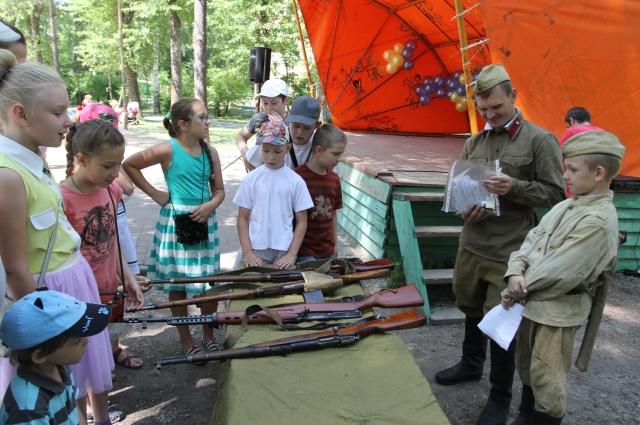 Детям рассказали о начале войны.