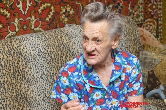 Мария Андреевна Самохвалова работала 20 лет бурщиком в шахте.