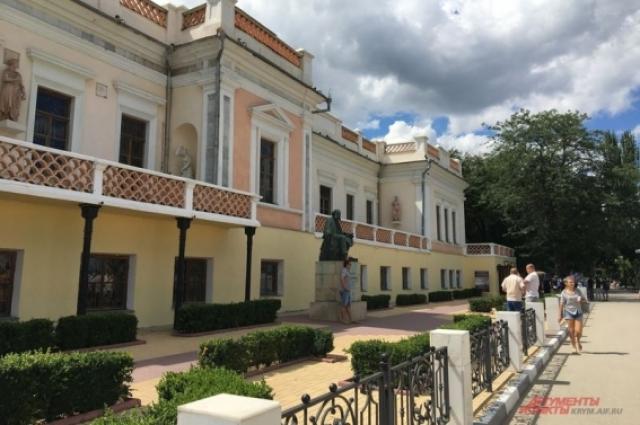 Галерея Айвазовского в Феодосии.