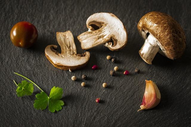 Используйте грибы, которые вам нравятся.