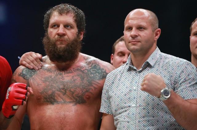 Федор и Александр Емельяненко.
