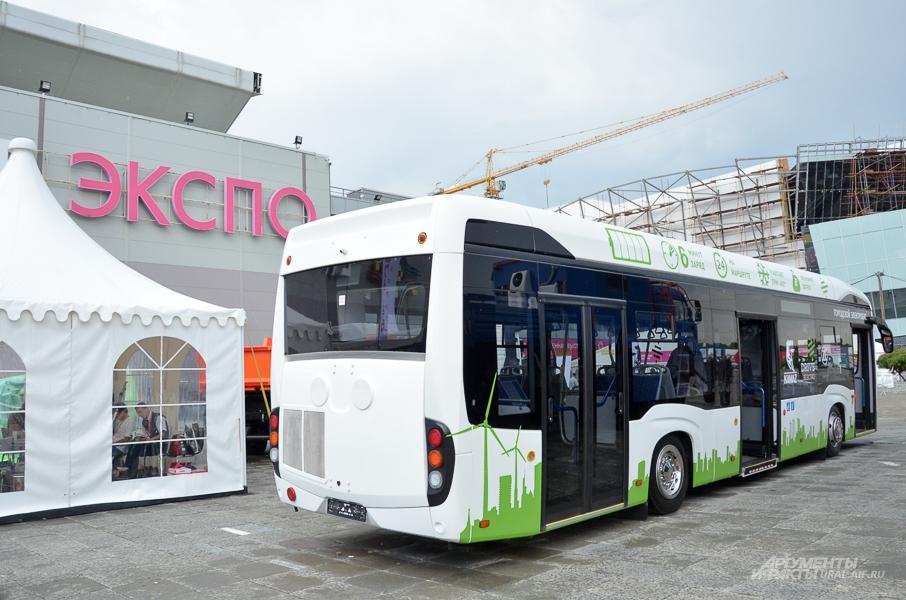 Электробус на ИННОПРОМе-2018.