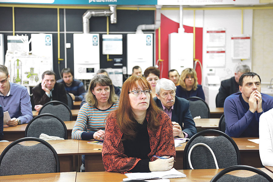 Обучение во время семинара прошли учителя, представляющие  все муниципальные образования Тамбовской области.