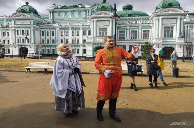 Густав Гасфорд с женой Надеждой
