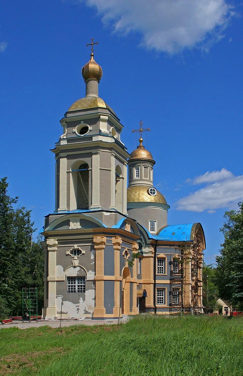 Архитектурное решение церкви Николая Чудотворца– единственное такое в Москве.