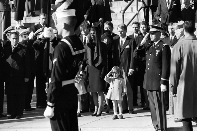 Похороны Кеннеди. 25 ноября 1963 года.