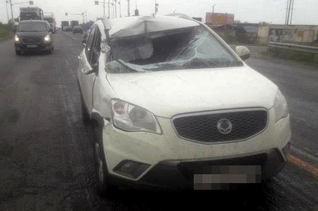 Травмы получил ребёнок-пассажир.