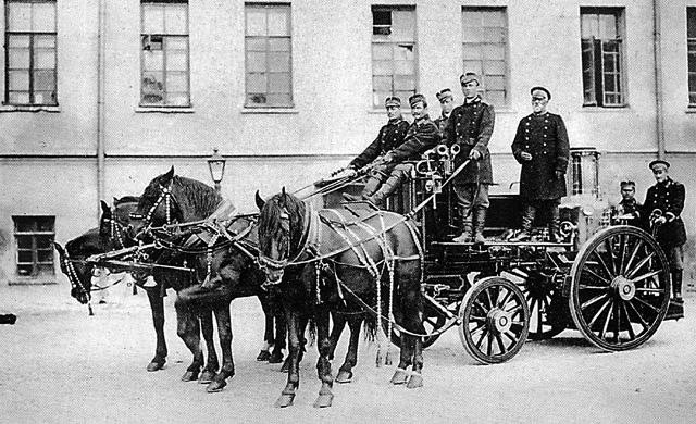 Пожарная охрана. Москва, 1900 год