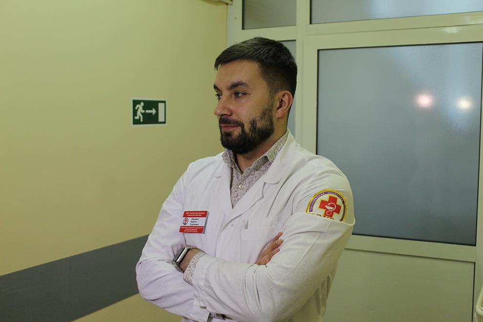 Хирург Кирилл Абрамов.