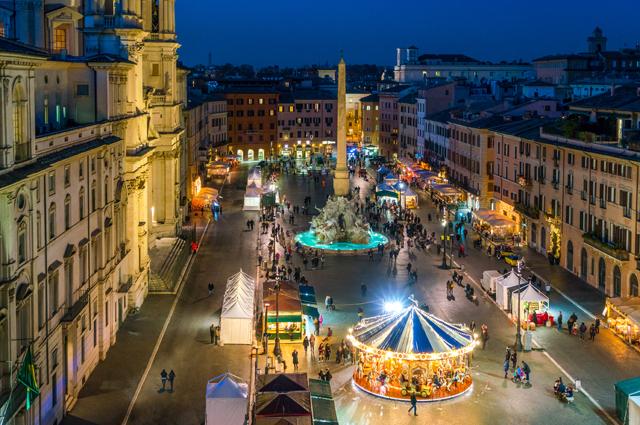 Рим, площадь Навона.