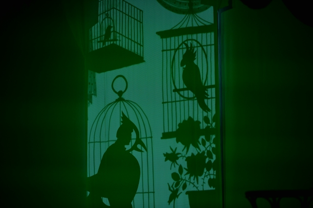 Чудесное превращение героя в птицу.