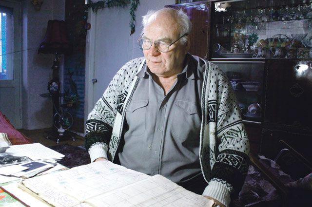 Несовершеннолетний узник, инвалид Великой Отечественной войны Вячеслав Быков