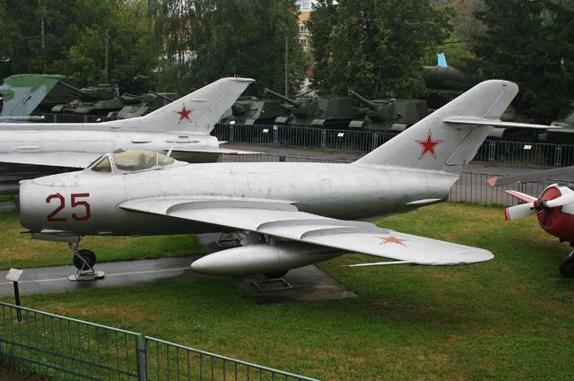 МиГ-17 в Центральном музее Вооружённых Сил.