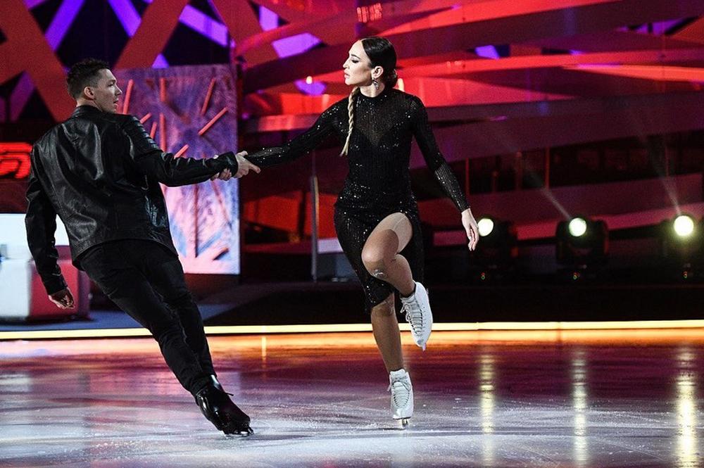 С Дмитрием Соловьёвым на шоу «Звёзды на льду».