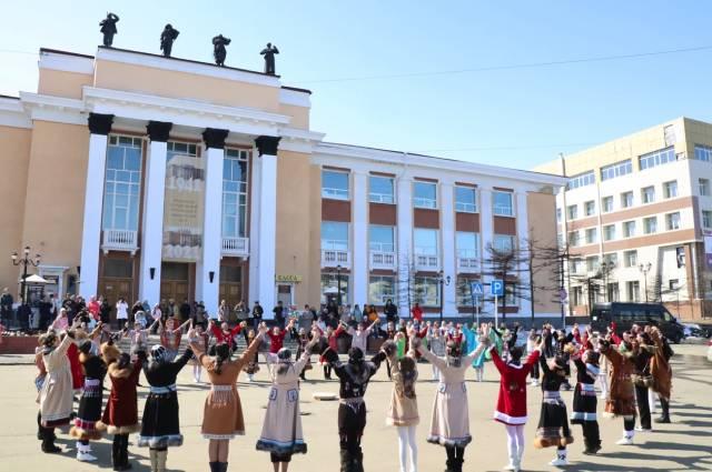 Международный день танца.