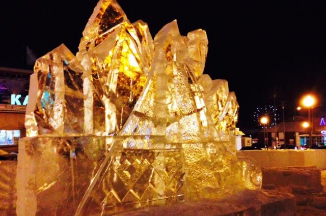Ледовый городок в Самарово