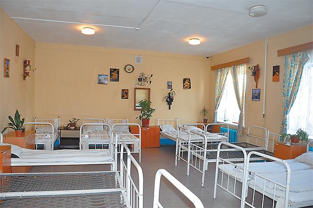 Комната, где живут осуждённые, не похожа на камеру
