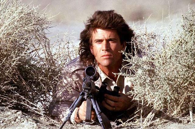 Кадр из фильма «Смертельное оружие».