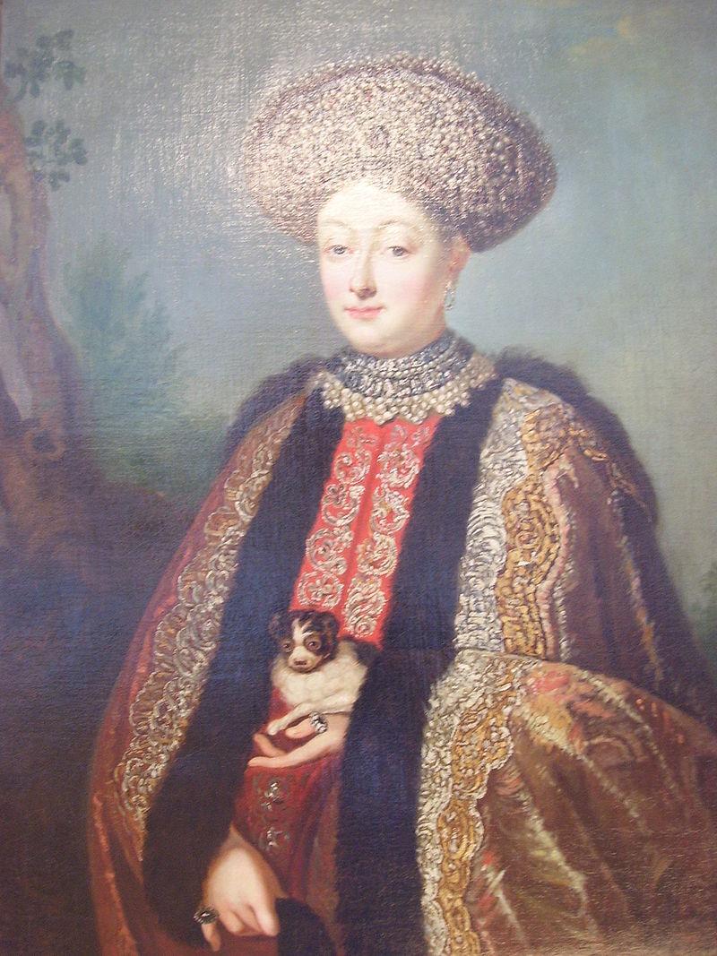 Марфа Матвеевна Апраксина.