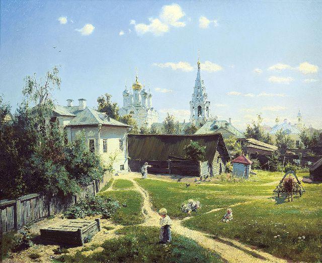 Картина Поленова дает возможность понять, какой была Москва в конце XIX века.