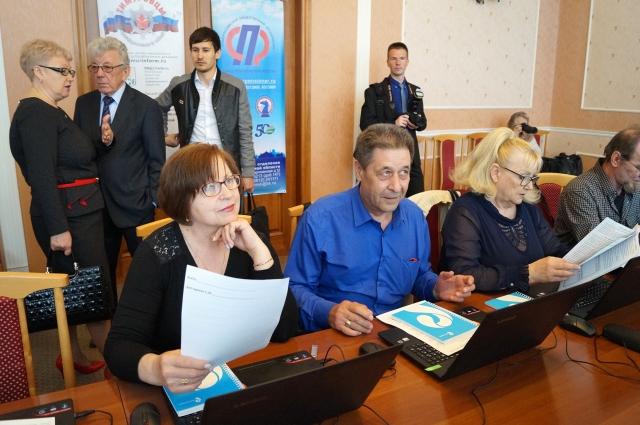 В конкурсе участвовали пенсионеры в возрасте от 55 до 70 лет.