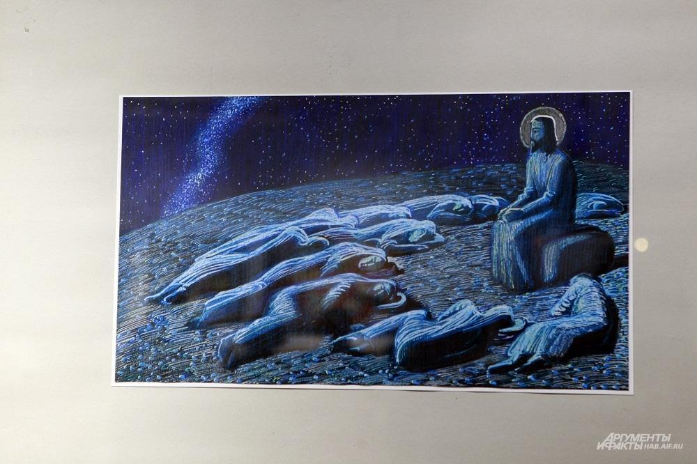 Последние годы в творчестве Мастера ключевой фигурой стал Иисус