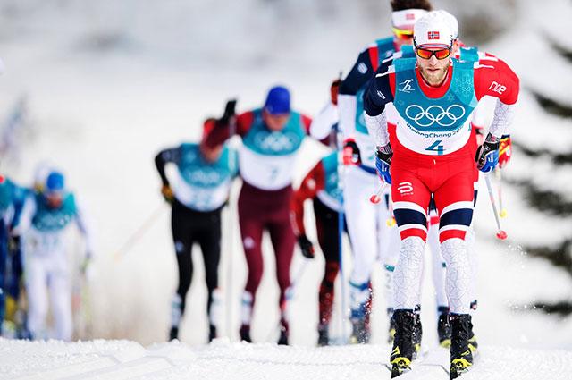 Норвежец Мартин Сундбю.