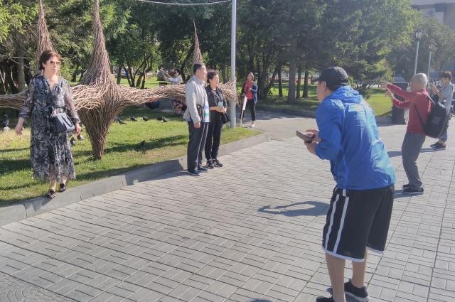 Ещё Новосибирск популярен у туристов с востока.