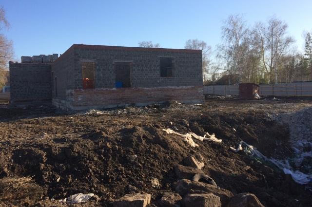 Строительство СДК в селе Желтое