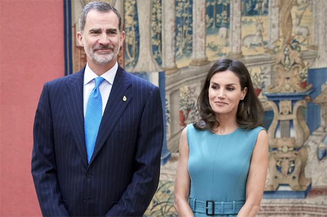 Король Испании Филип VI и королева Испании Летиция.