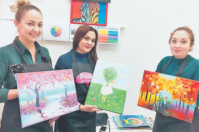 Радость творчества знакома каждому студенту арт-студии на улице Народного Ополчения.