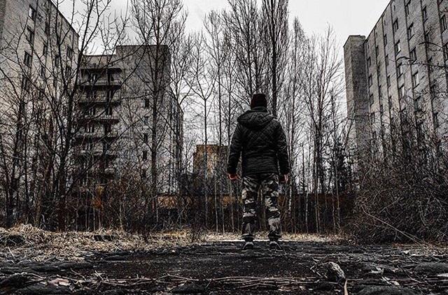 Прогулка по Припяти, городу-призраку.