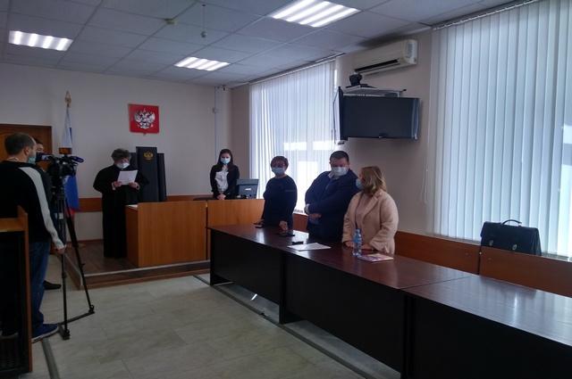 Суд над Элиной Сомовой в Уфе