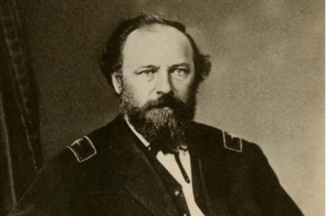 Джон Бэйзил Турчин. Изобретатель бронепоезда. Он же Иван Васильевич Турчанинов.
