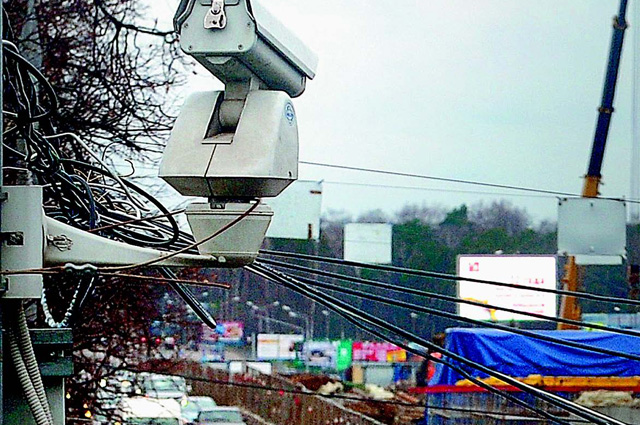 Дорожная камера видеонаблюдения
