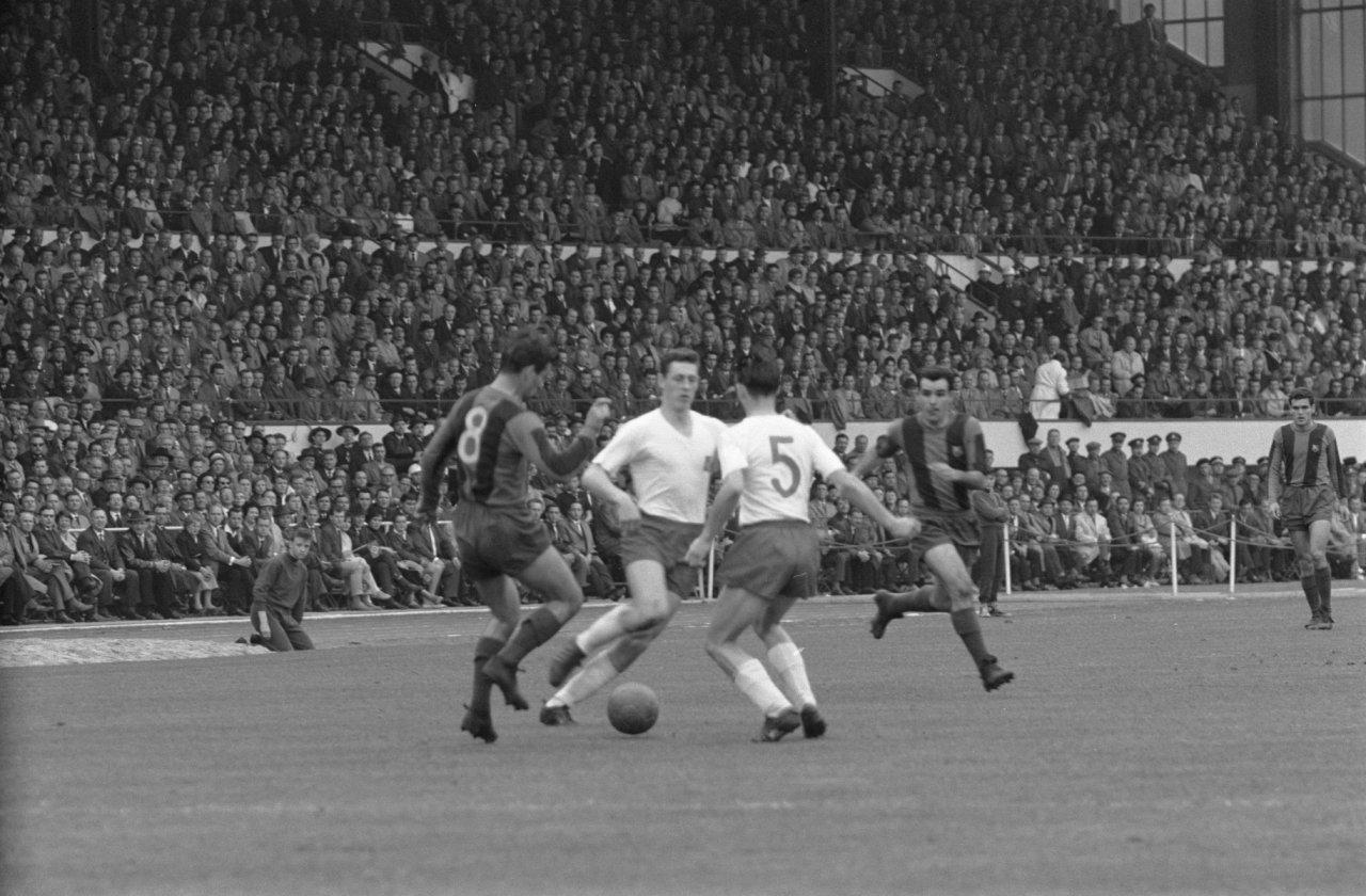 Барселона Гамбург . 1961 год