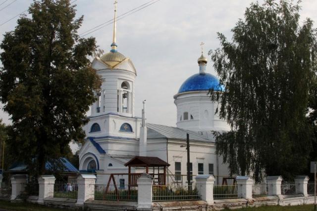 Церковь Успения Пресвятой Богородицы села Акулево