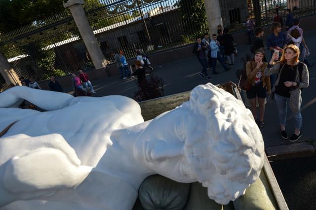 Копия статуи Милянджело