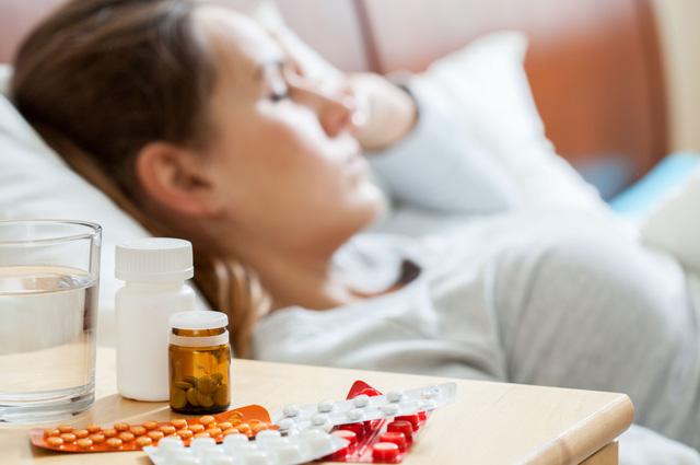 грипп, лекарства