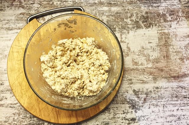 Фото рецепта вкусного творожного печенья в духовке