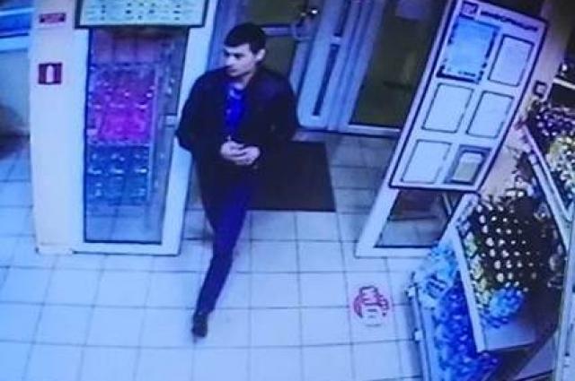 Подозреваемый в ограблении