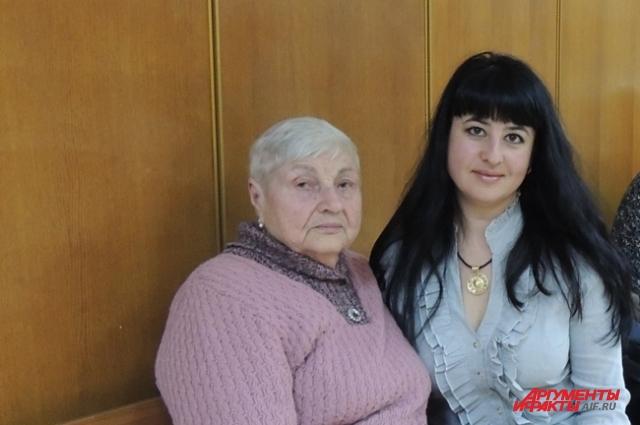 Оксана Шарно защищает интересы пенсионерки Лидии Титоренко бесплатно.